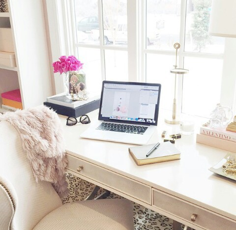 beautiful-desk-girly-home-Favim.com-2425609